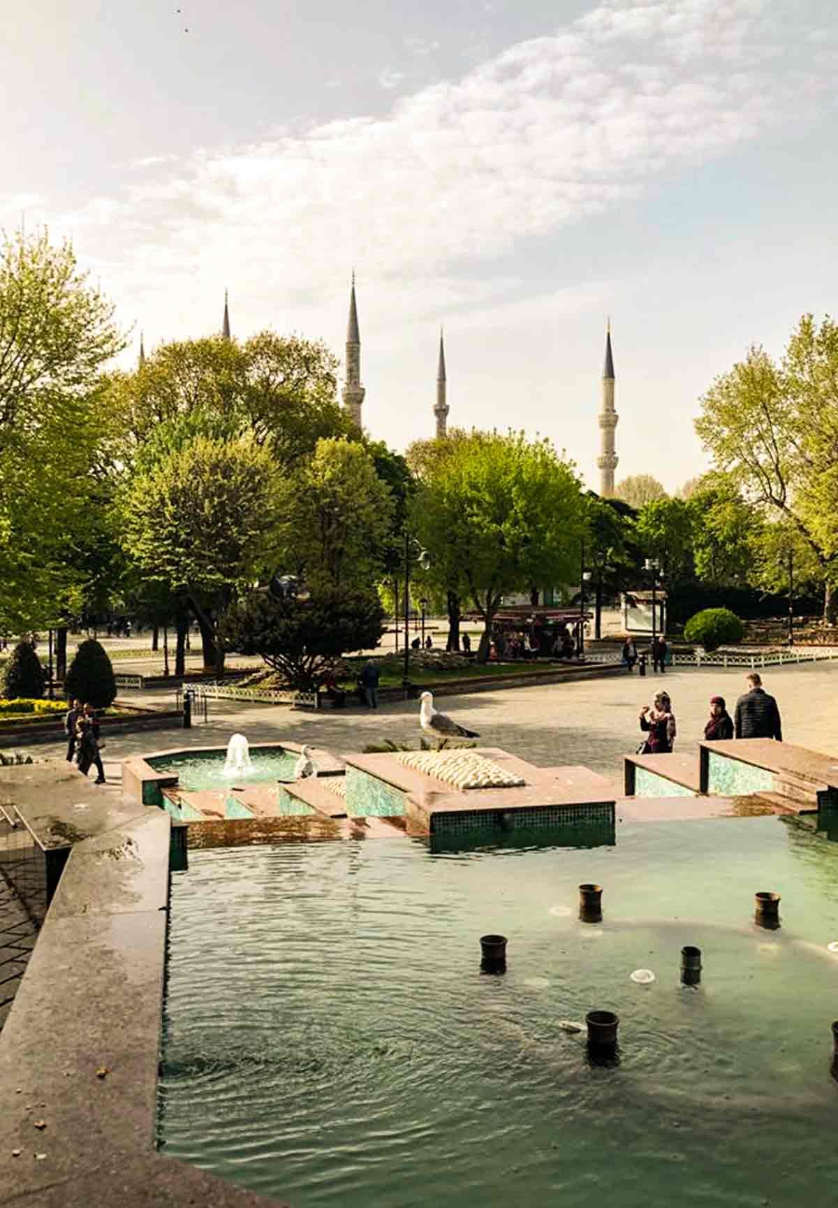 piazza principale di istanbul