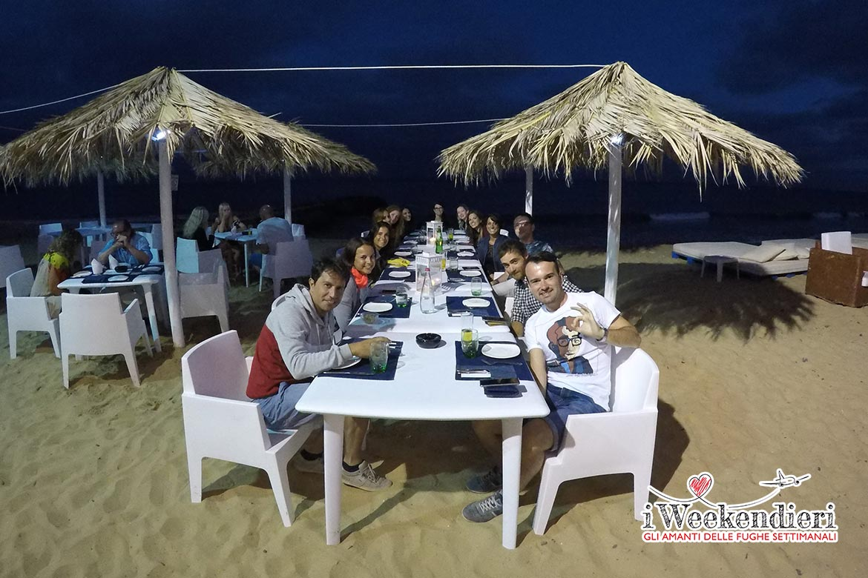 cena al ristornate o corsario a porto santo