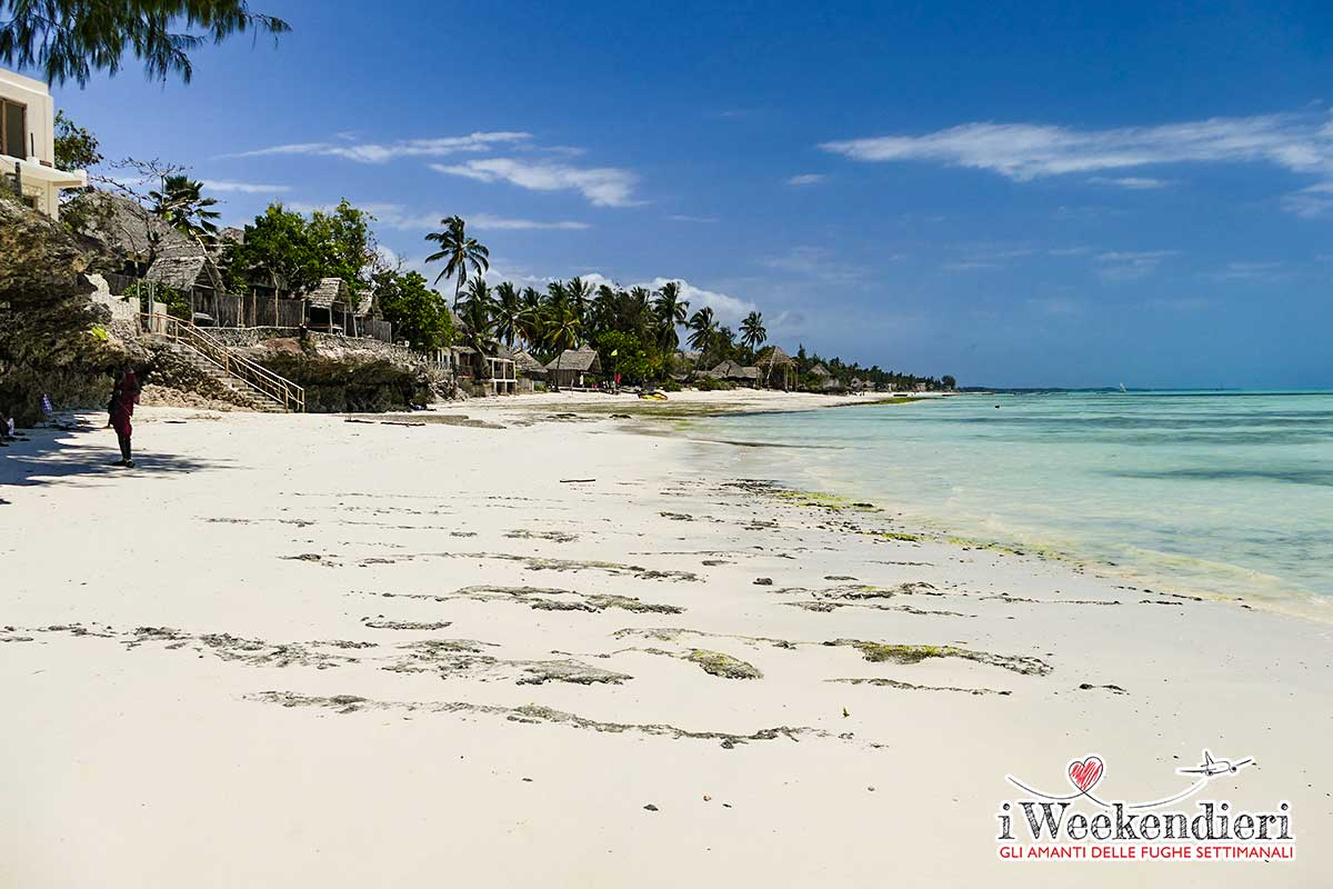 spiaggia di Jambiani Zanzibar