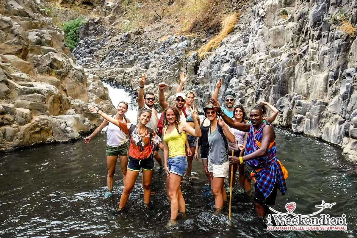 trekking cascate natron tanzania