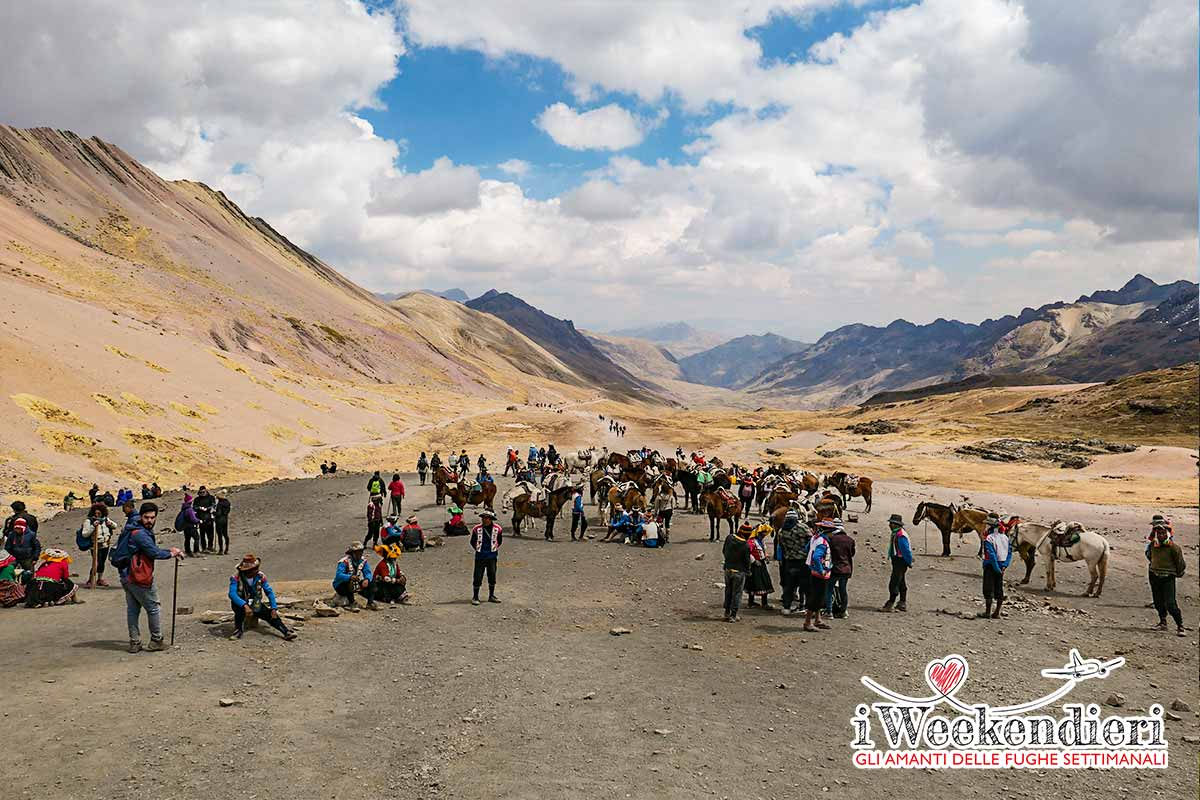 PANORAMA DEL TREKKING ALLA RAINBOW MOUNTAIN