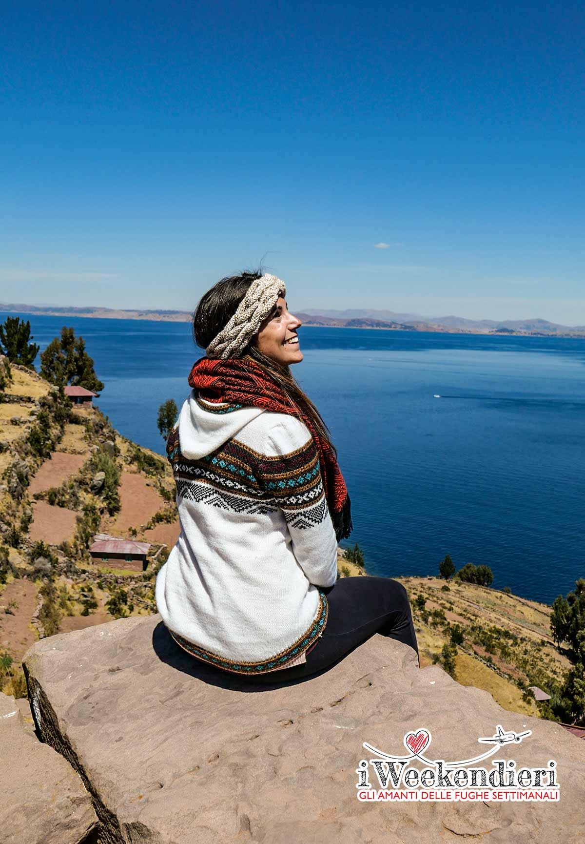 panorama del lago titicaca