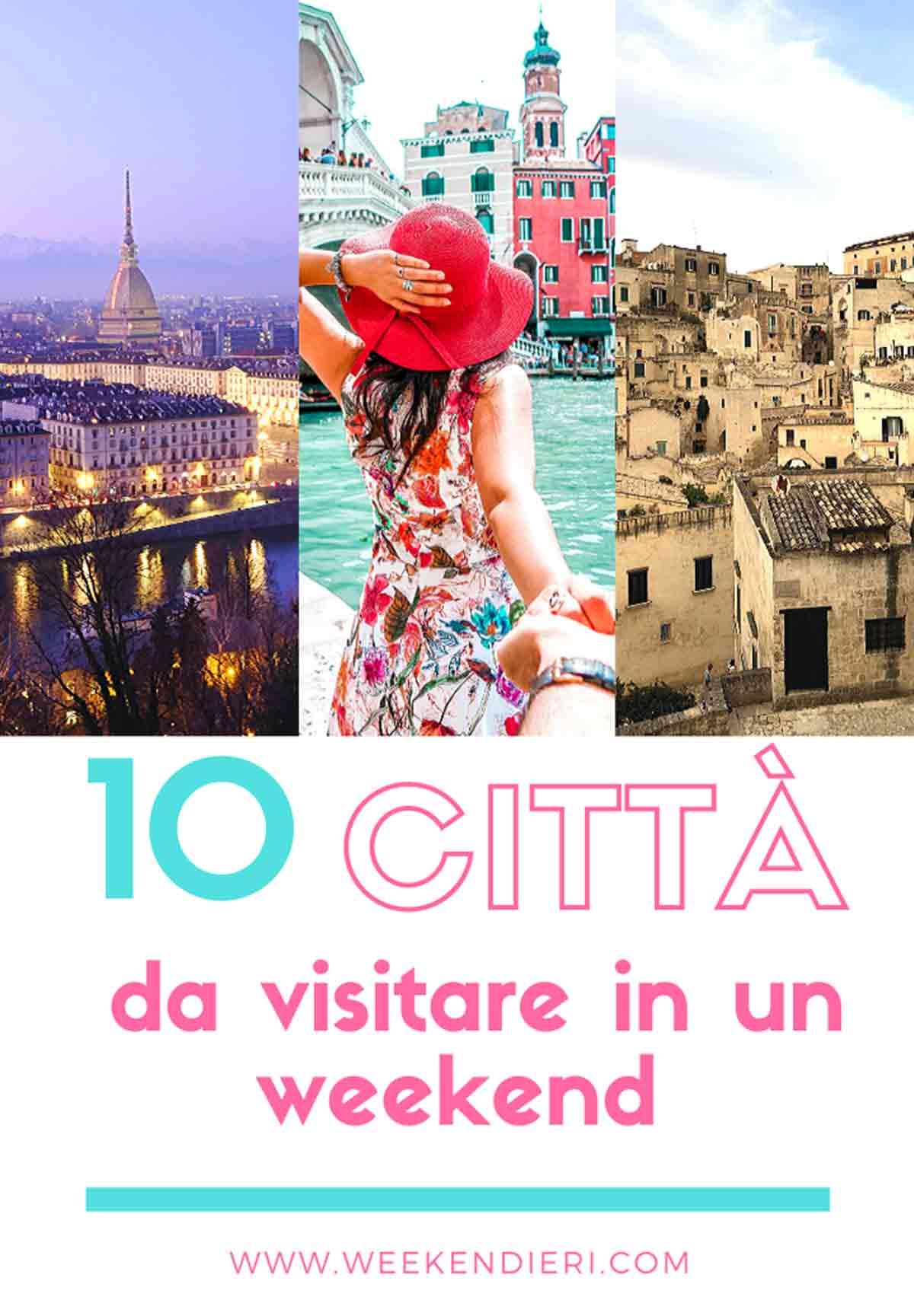 città belle da vedere in italia