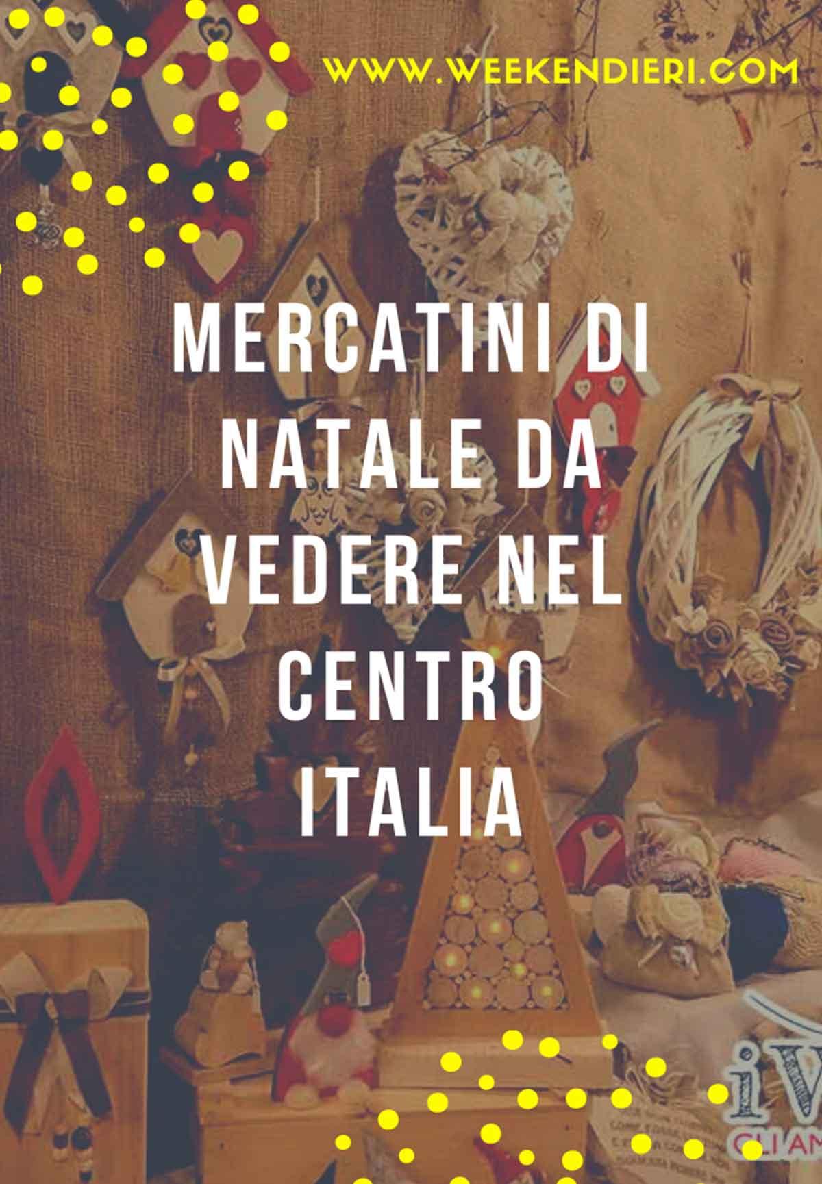 mercatini natale centro italia