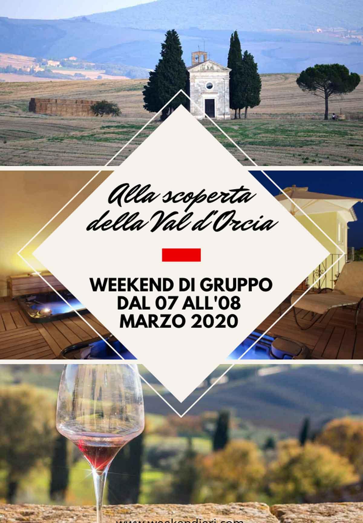 weekend organizzati