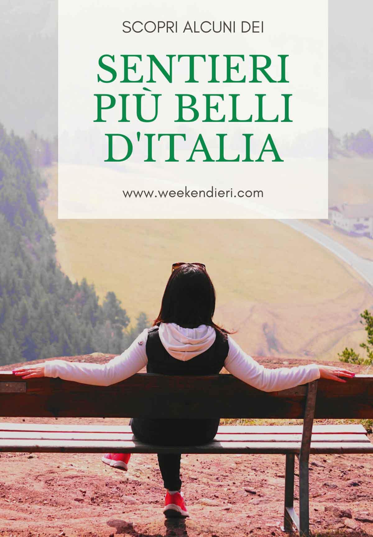 sentieri più belli di Italia