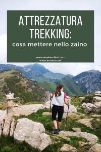 attrezzatura trekking Pinterest