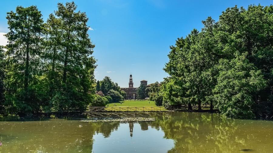 parchi più belli di Milano: parco sempione