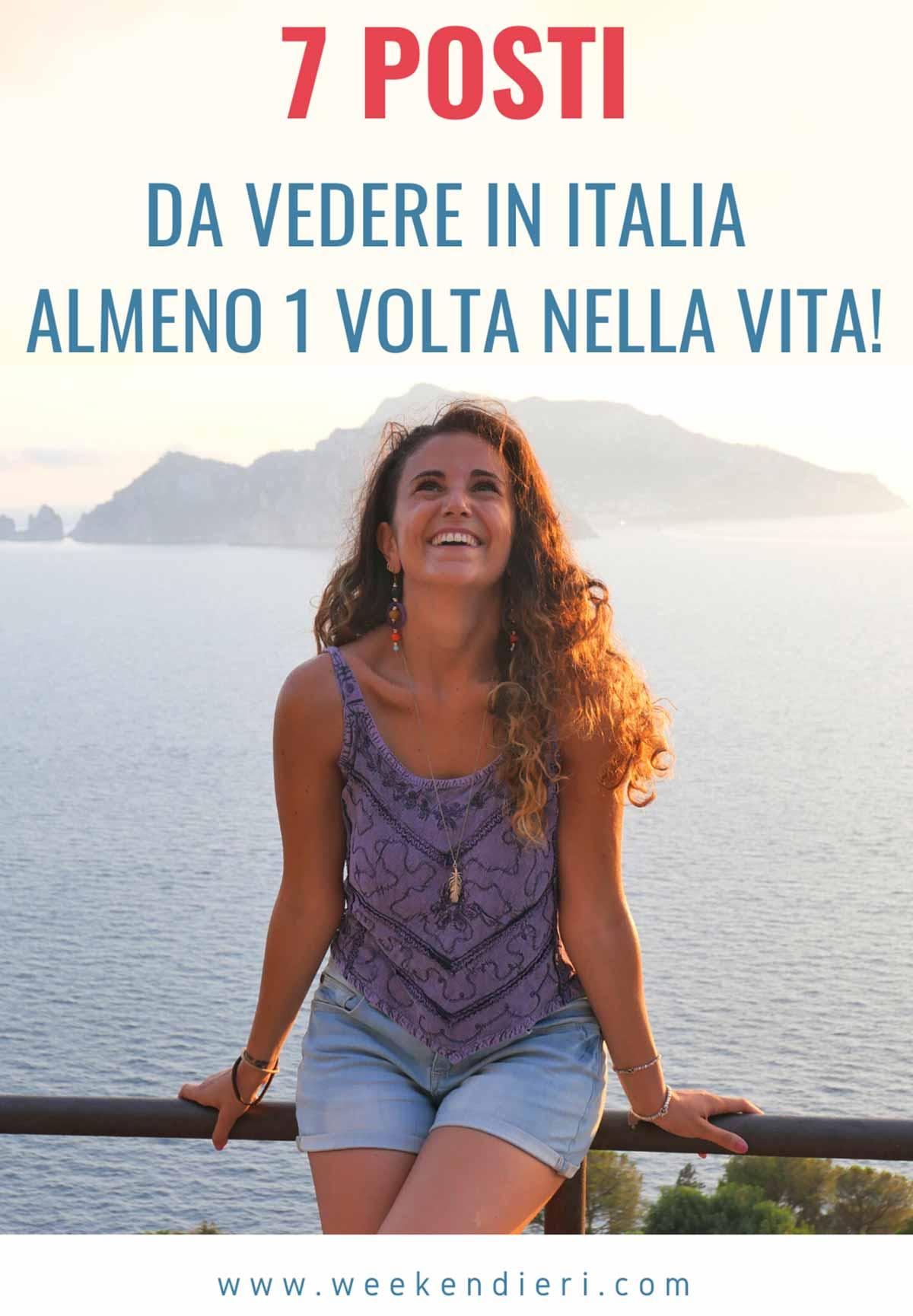 posti da visitare in Italia