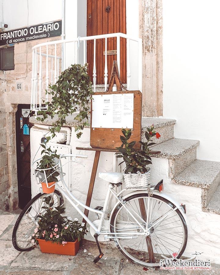 Vicoli di Ostuni in Puglia
