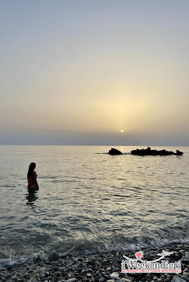 Cosa vedere a San Vito Lo Capo in un weekend: Spiaggia Bue Marino